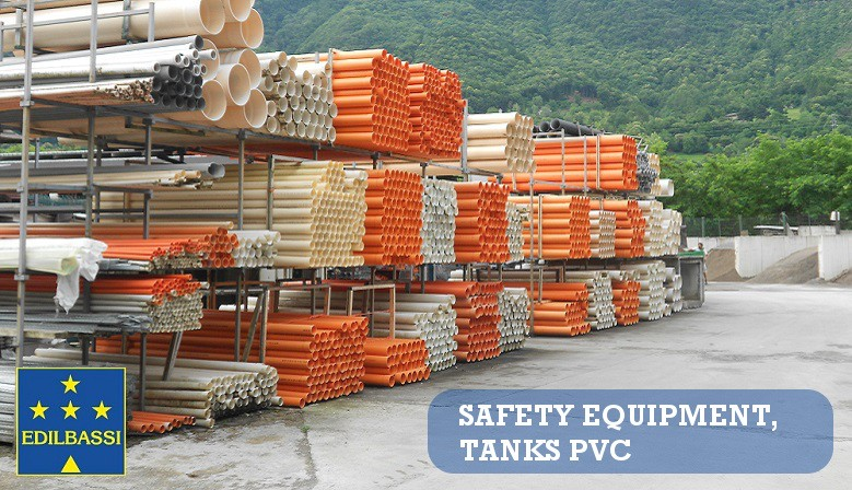 Safety Equipmente and Tanks PVC